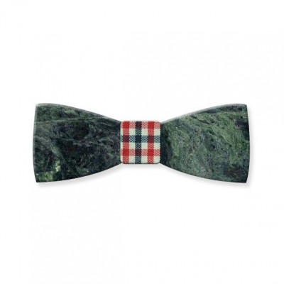 Marble Bow Tie | Emerald Green