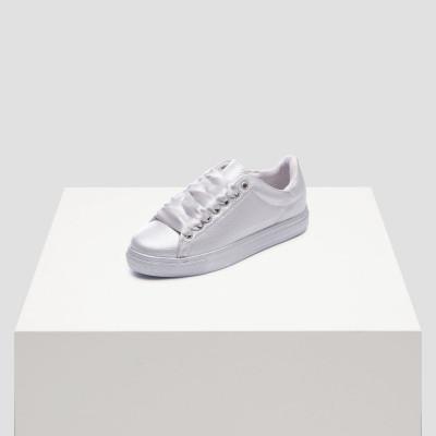 Women Sneakers   Roos 1C Silver