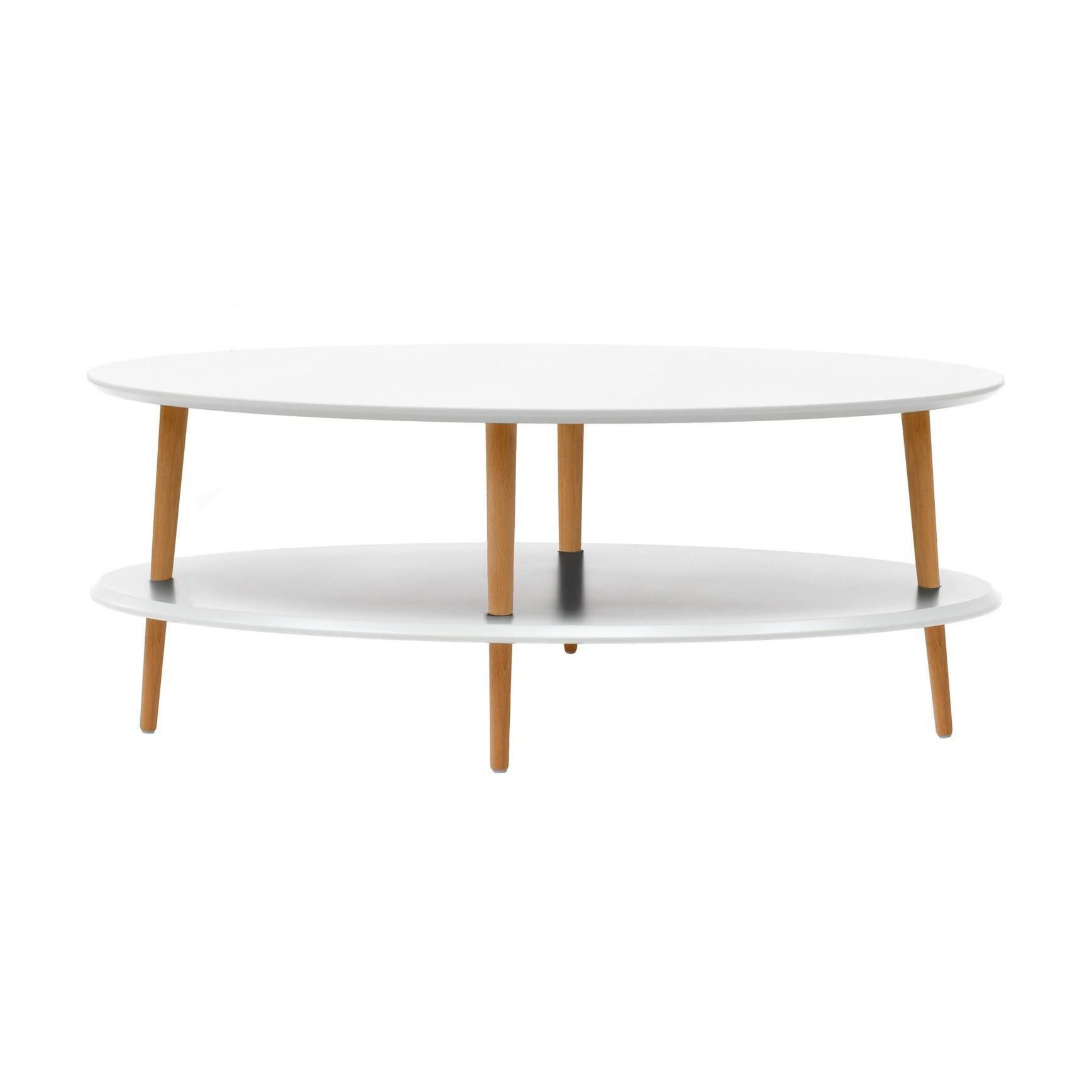 Ovo Coffee Table | White