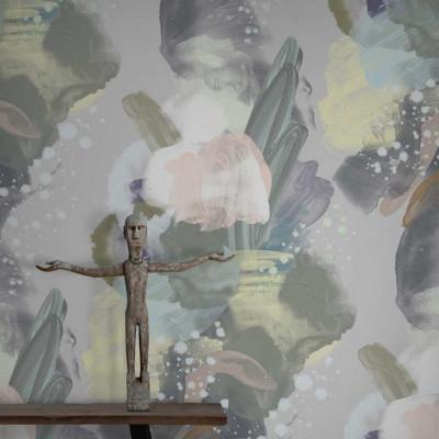 Wallpaper English Rose | Pastel