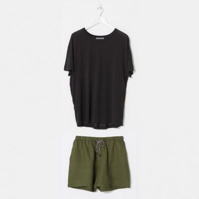Herren Enkel Pyjama Set | Kohle & Kiefer