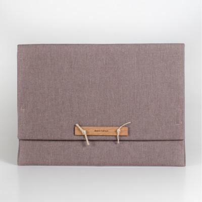 Schutztasche Envelops | Grau