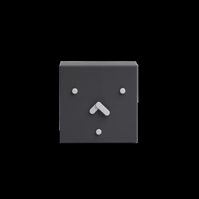 Tischuhr Face 2-6-10 | Schwarz