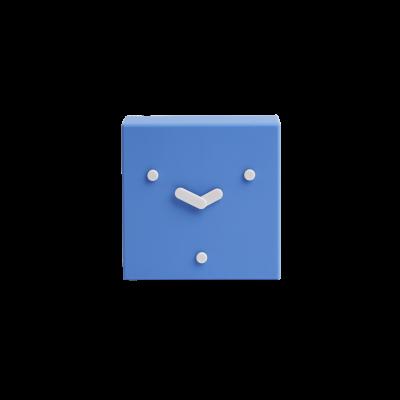 Tischuhr Face 2-6-10 | Blau