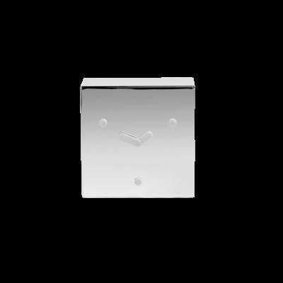 Tischuhr Face 2-6-10 | Chrom
