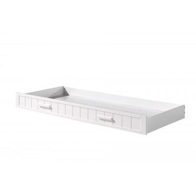 Erik Schublade für Bett 90 x 200 cm   Weiß