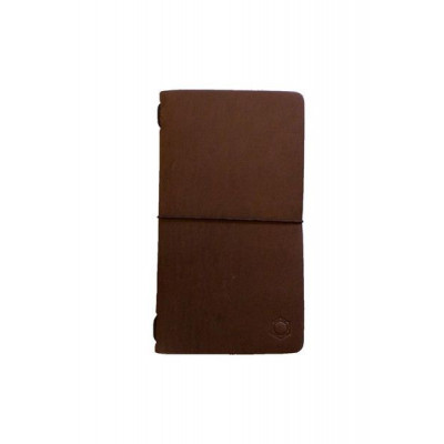 Ernest Leather Notebook   Brown