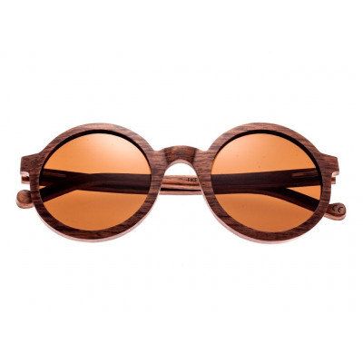 Sunglasses Earth Wood Canary | Brown + Wooden Frame