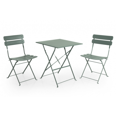 Outdoor Dining Table Set Esino | Green