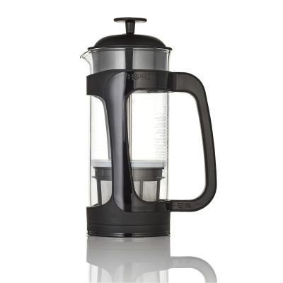 French Press mit Kaffeefilter P3 950 ml | Schwarz