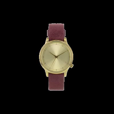 Estelle Classic Watch   Burgundy