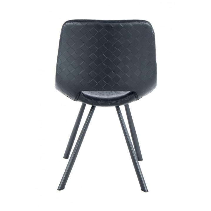 Chaise Hagga Set de 2   Noir