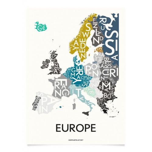 Europa Poster   Sonderausgabe
