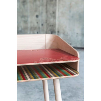 TonTon Schreibtisch & Stuhl Rosa