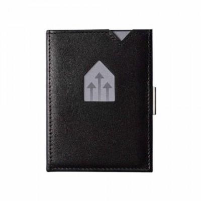 Leder-Geldbörse | Schwarz