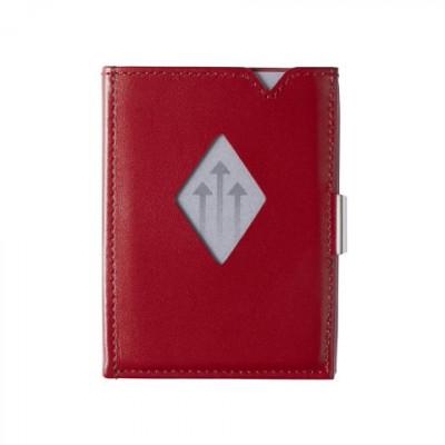 Leder-Geldbörse | Rot