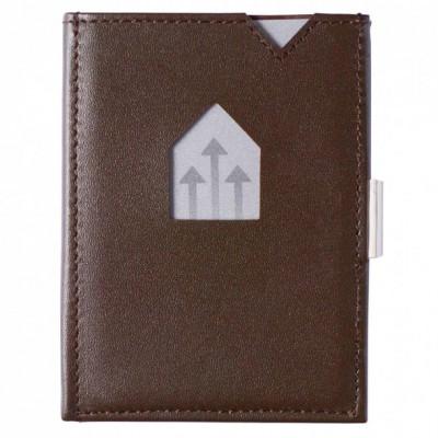 Leder-Geldbörse | Braun