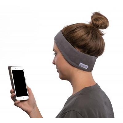 SleepPhones Wireless Fleece | Soft Gray