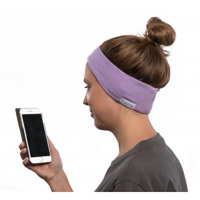 SleepPhones Wireless Fleece | Quiet Lavender