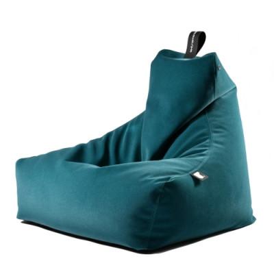 Sitzsack Mighty B | Suede | Blaugrün