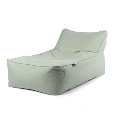 Outdoor-Bettliege ohne Kissen | Pastellgrün