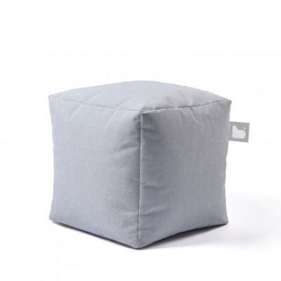 Outdoor-Pouf B-Box | Pastellblau