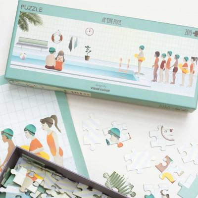 Puzzle am Pool | 200 Stück
