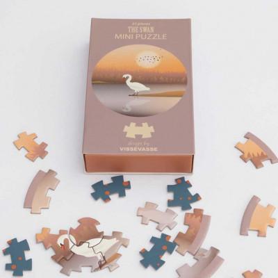 Mini Puzzle | Der Schwan
