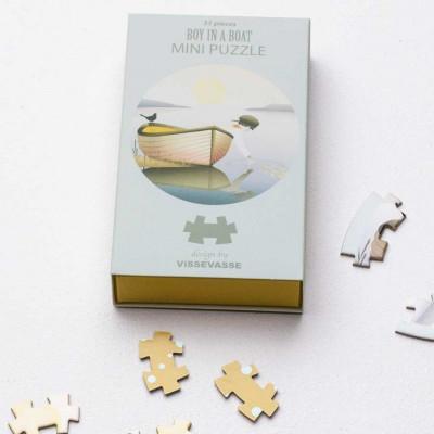 Mini Puzzle | Boy In A Boat