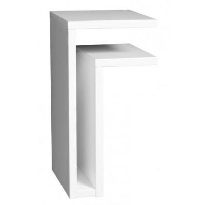 Nachttisch F Weiß | Rechts