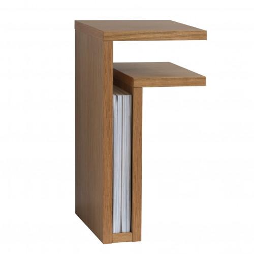 F-Shelf Bedside Shelf Oak   Right