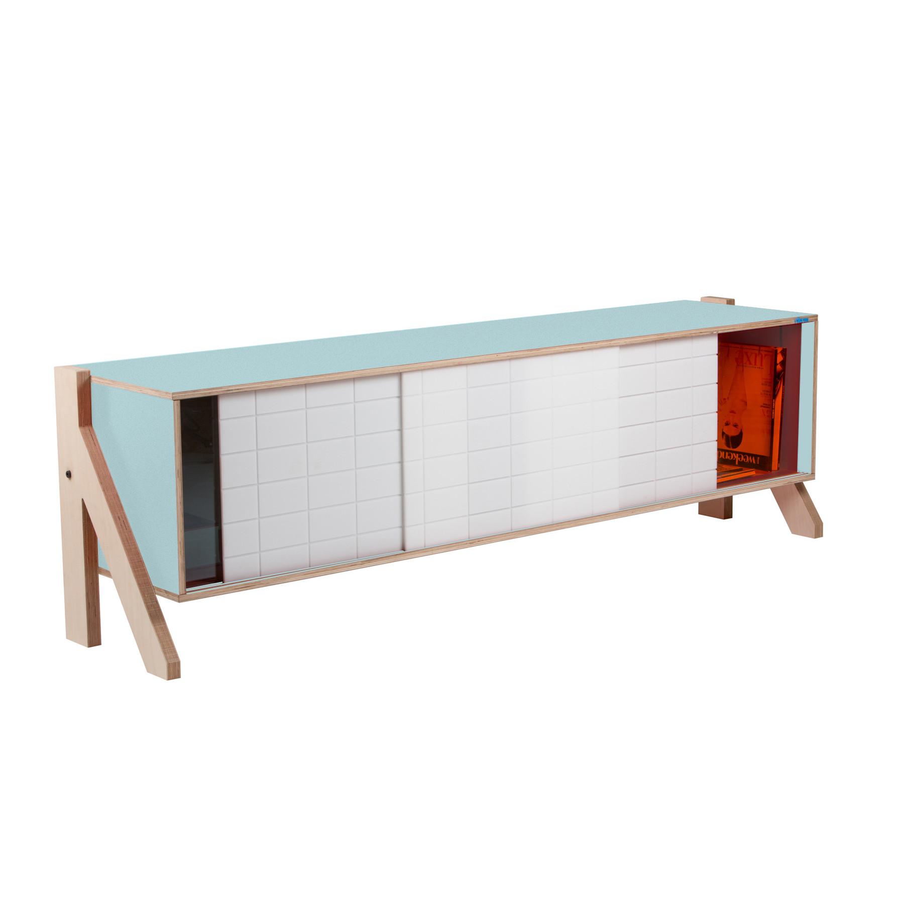 Sideboard Frame 01   Hellblau