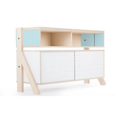 Sideboard-Rahmen 02 | Hellblau