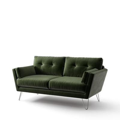 2-Sitzer-Sofa Tido   Flaschengrün