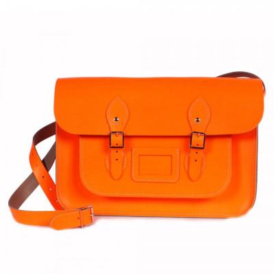 Schulranzen groß Neon Orange