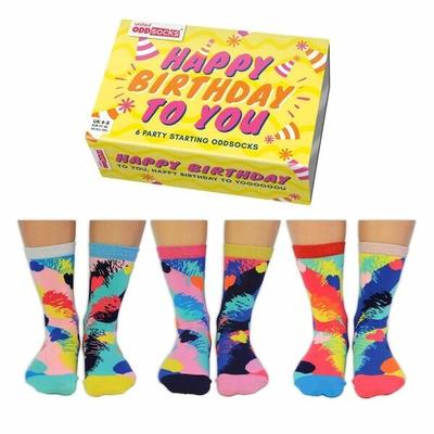 Damen Geschenkbox 6er Pack Socken BDAY   37-42