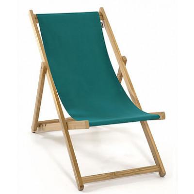 Strandstuhl ohne Armlehne | Grün