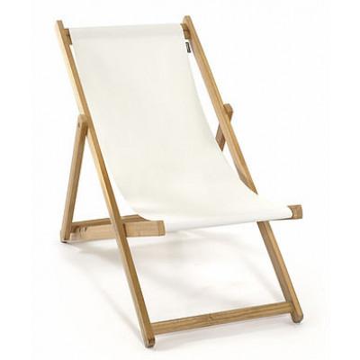 Strandstuhl ohne Armlehne | Weiß