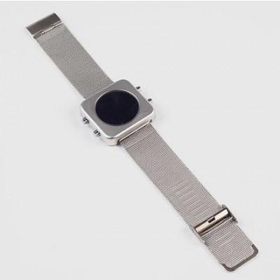 Circa Watch | Mesh, Silver Case, Silver