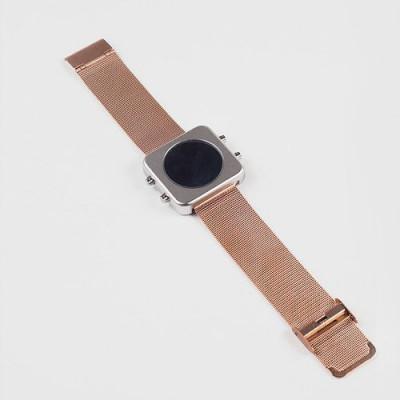 Circa Watch | Mesh, Silver Case, Rose