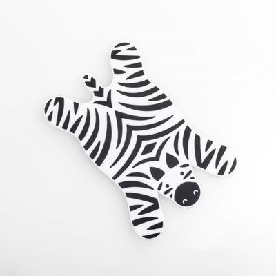 Tassenwärmer Sleepy Zebra | Schwarz und Weiß