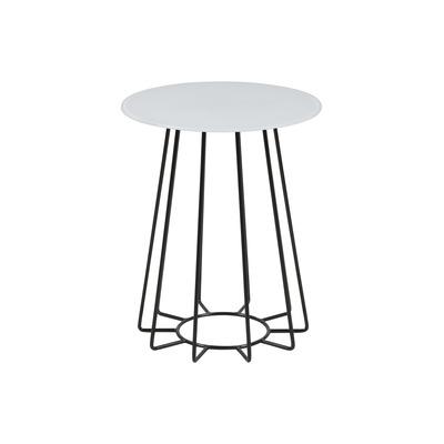Couchtisch Casia Glas | Weiß & Schwarz