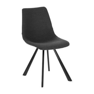 2er Set Stühle Andi   Dunkelgrau