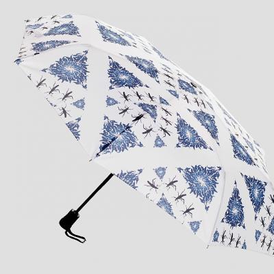 Blue Wine Umbrella