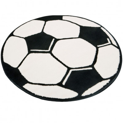 Round Football Carpet