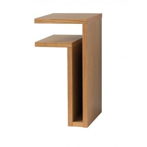 F-Shelf Bedside Shelf Oak | Left