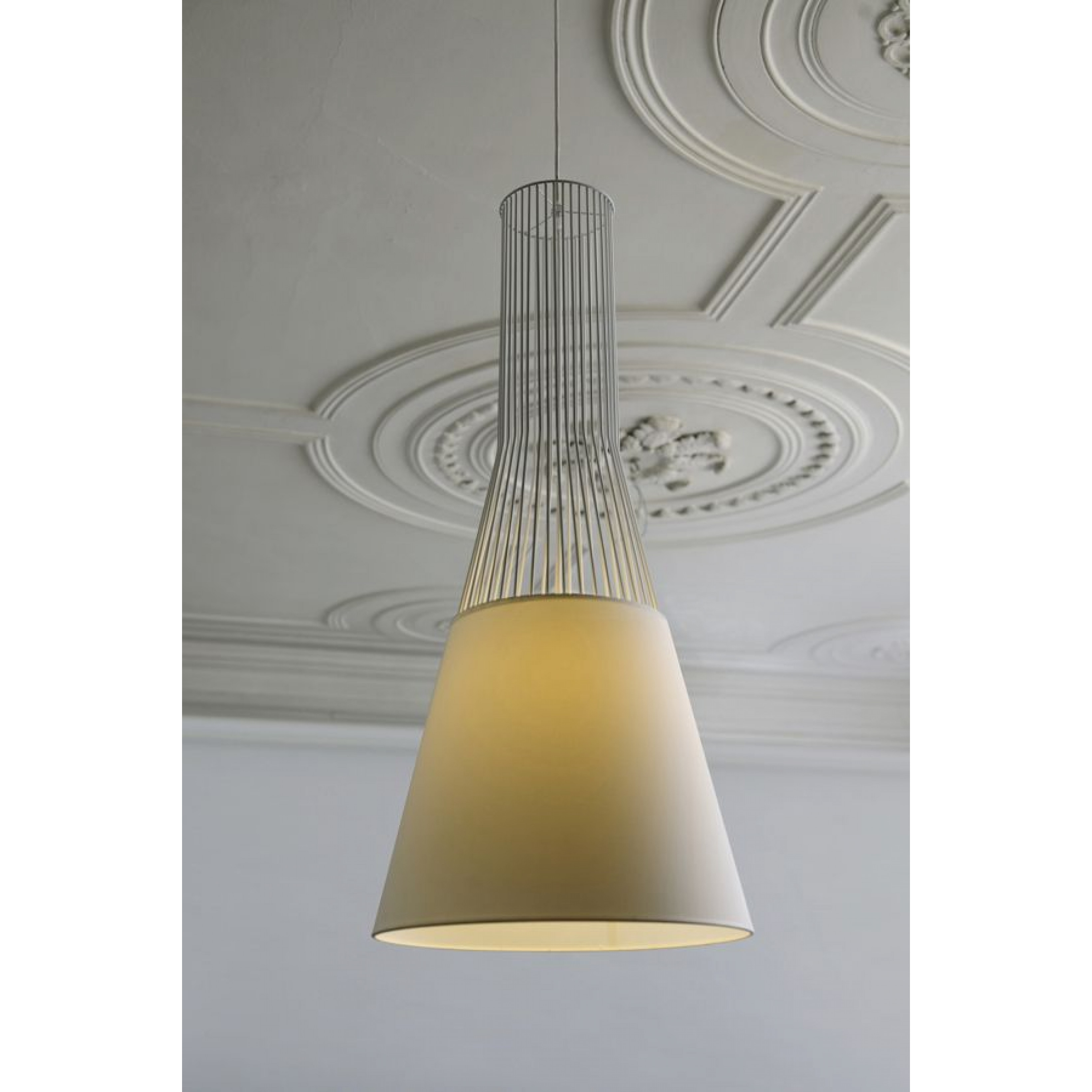 Suspension Lamp Raio   White