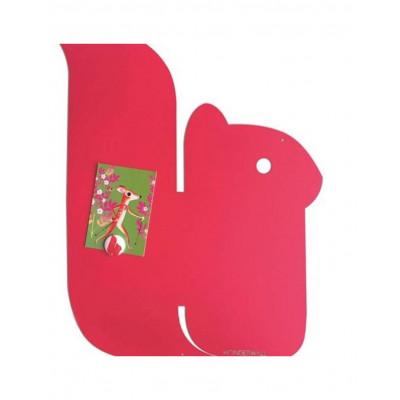 Magnetic Board | Squirrel M Strawberry Fuschia