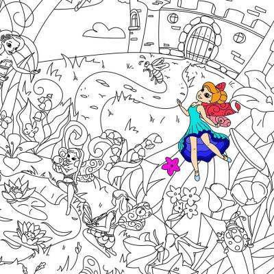 Fabulous Fairy Colouring