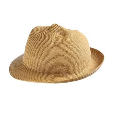 Mask Hat | Face Khaki Brown